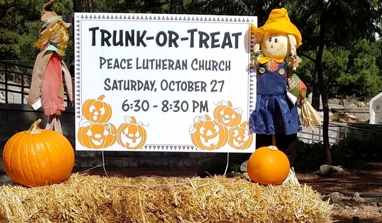 Trunk or Treat & Pumpkin Patch – Oct 27