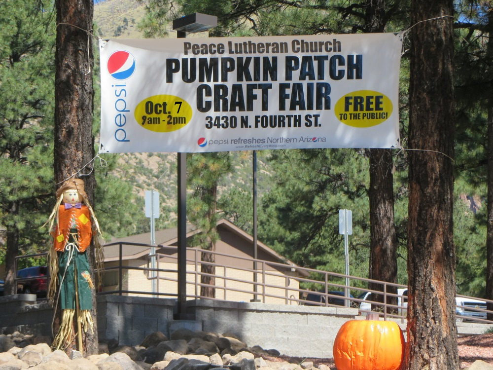 October 7, 9 am-2 pm – Pumpkin Patch & Craft Show