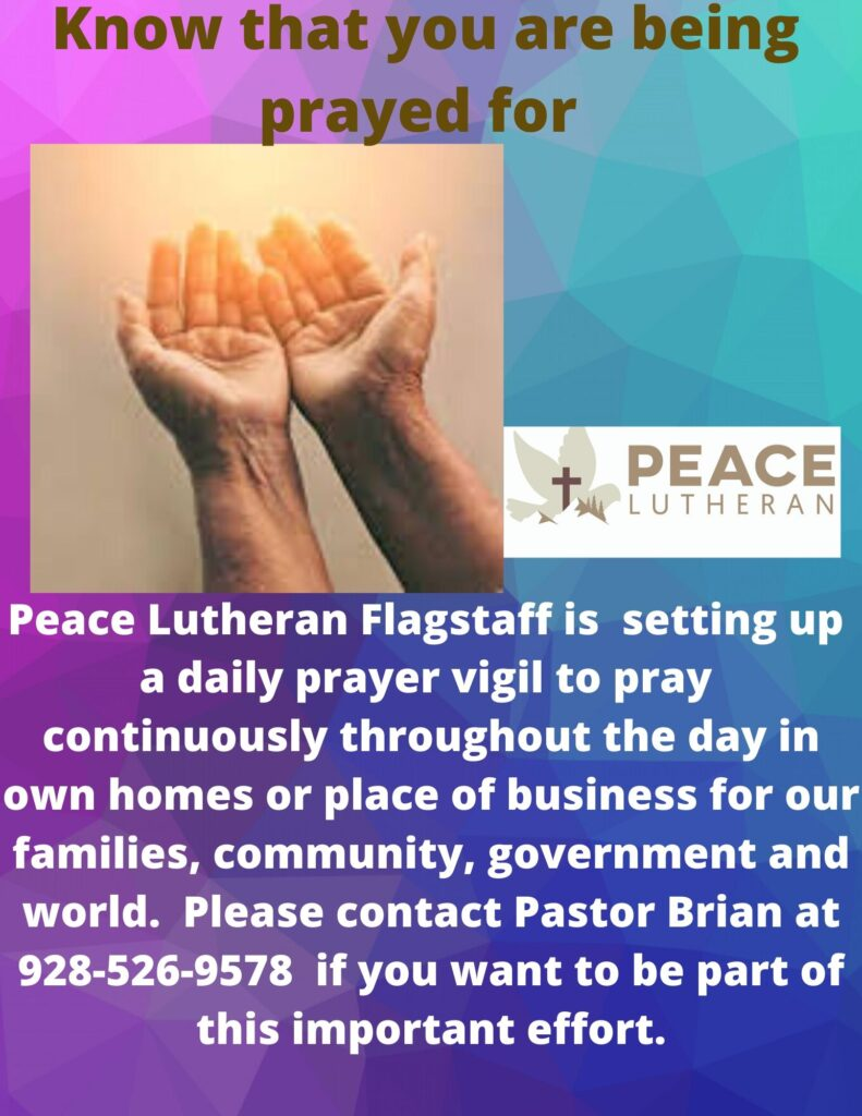 Join Our Prayer Vigil